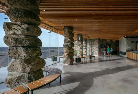Ein Kshatot – visitors center