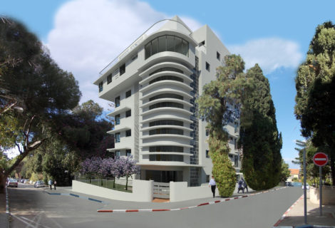 בית מגורים ברח' הברושים 12 חיפה