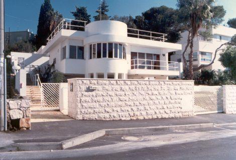 בית מגורים בכרמל בחיפה.