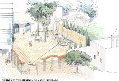 Memorial Garden –  un built
